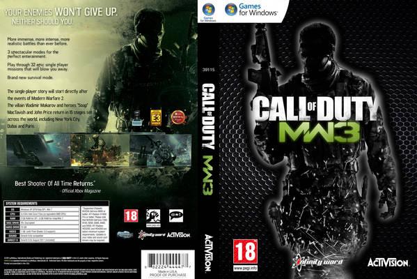 Call Of Duty MODERN WARFARE 3 Full PC+Online