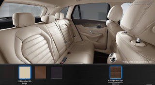 Nội thất Mercedes GLC 300 4MATIC Coupe 2016 màu Vàng Silk 225
