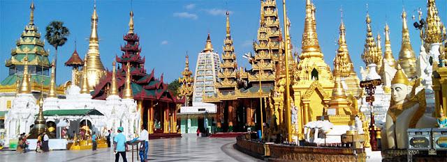 Shwedagon Pagoda Platform