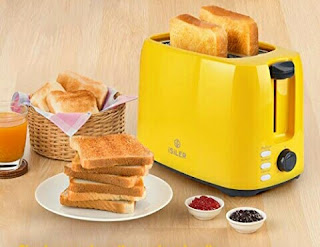 Isiler Bread Toaster with 2-Slice Toasting Slots