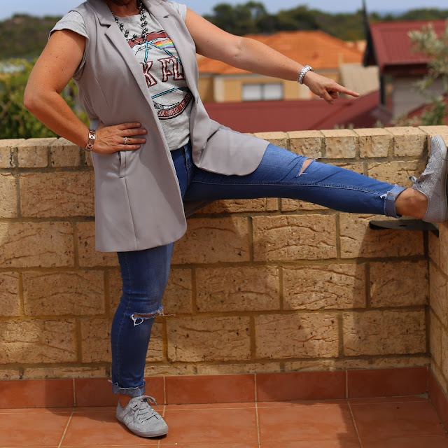 the fashionable mum mum holster sneakers
