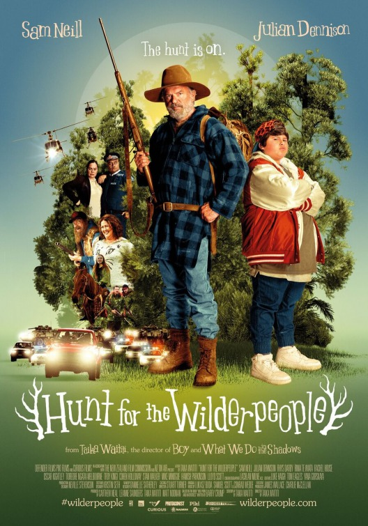 Hunt for the Wilderpeople 2016 movie Poster