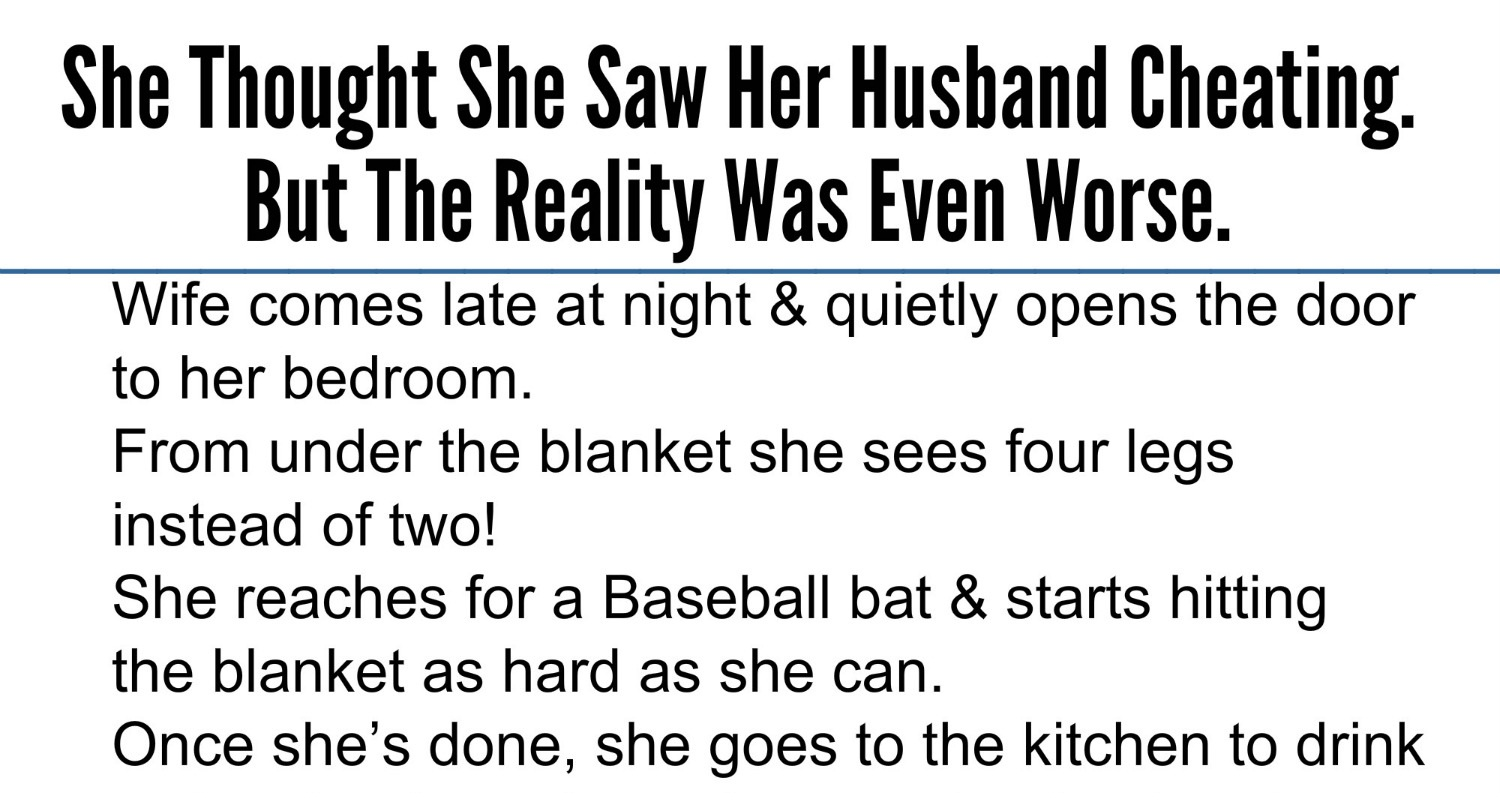 Cheating Husband Quotes Beauteous Beautiful Quotes She Thought She Saw Her Husband Cheatingbut