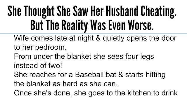 She Cheated On Me Quotes: She Thought She Saw Her Husband Cheating. But The Reality