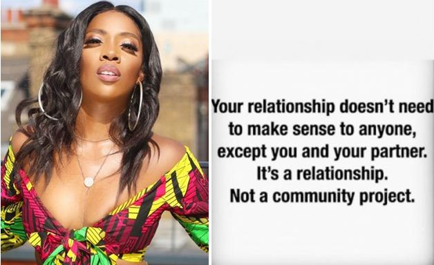 Tiwa-Savage-gives-relationship-advise-amidst-Wizkid's-Fever-Video-controversy