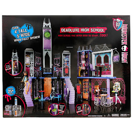 MH G1 Playsets Deadluxe High School Doll