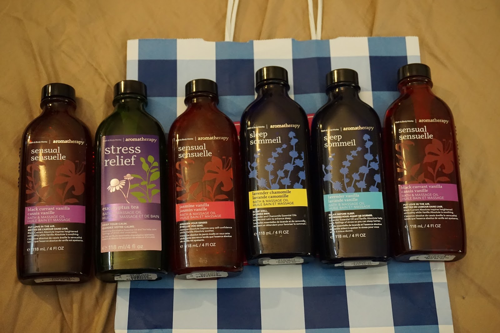 Bath And Body Works Massage Oil As Lube