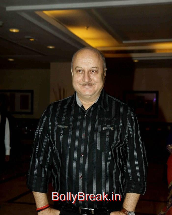 Anupam Kher, Singer Abhijeet Wedding Anniversary Photo Gallery
