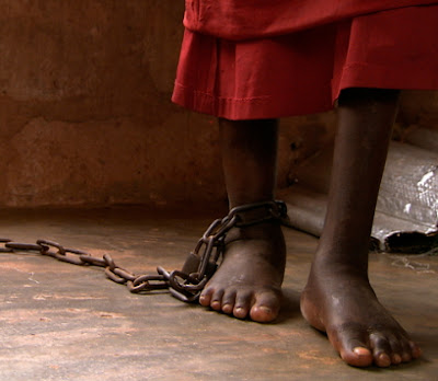 girl chained by aunt ogun state