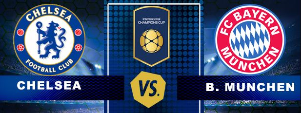 Siaran Langsung Chelsea vs Bayern Munchen ICC 2017 Singapura - Live Streaming