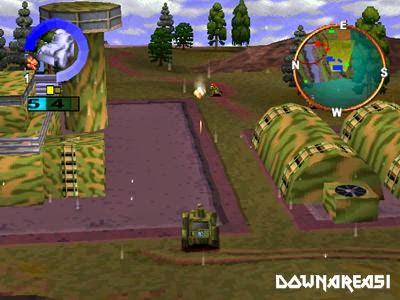Wargames Defcon 1 PSX Game