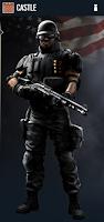 Portrait of Castle - Rainbow Six Siege Operator