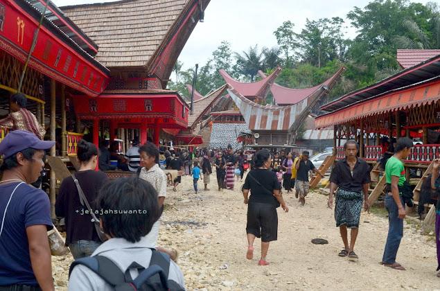 Hiruk pikuk Rambu Solok di Rantepao Tana Toraja || jelajahsuwanto