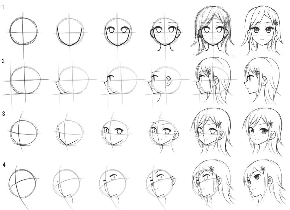 51+ Cara Menggambar Sketsa Wajah Anime - Download Kumpulan ...