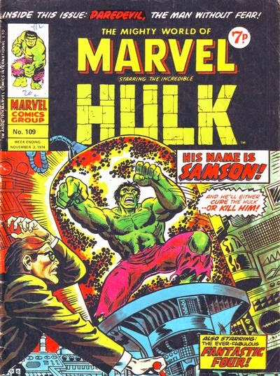 Mighty World of Marvel #109, Doc Samson