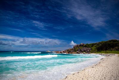 Grand Anse - Strand auf La Digue, Seychellen