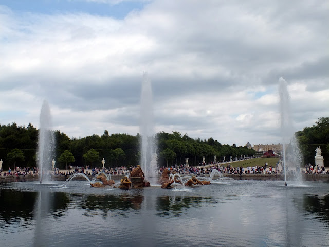visitar en verano el palacio de Versalles
