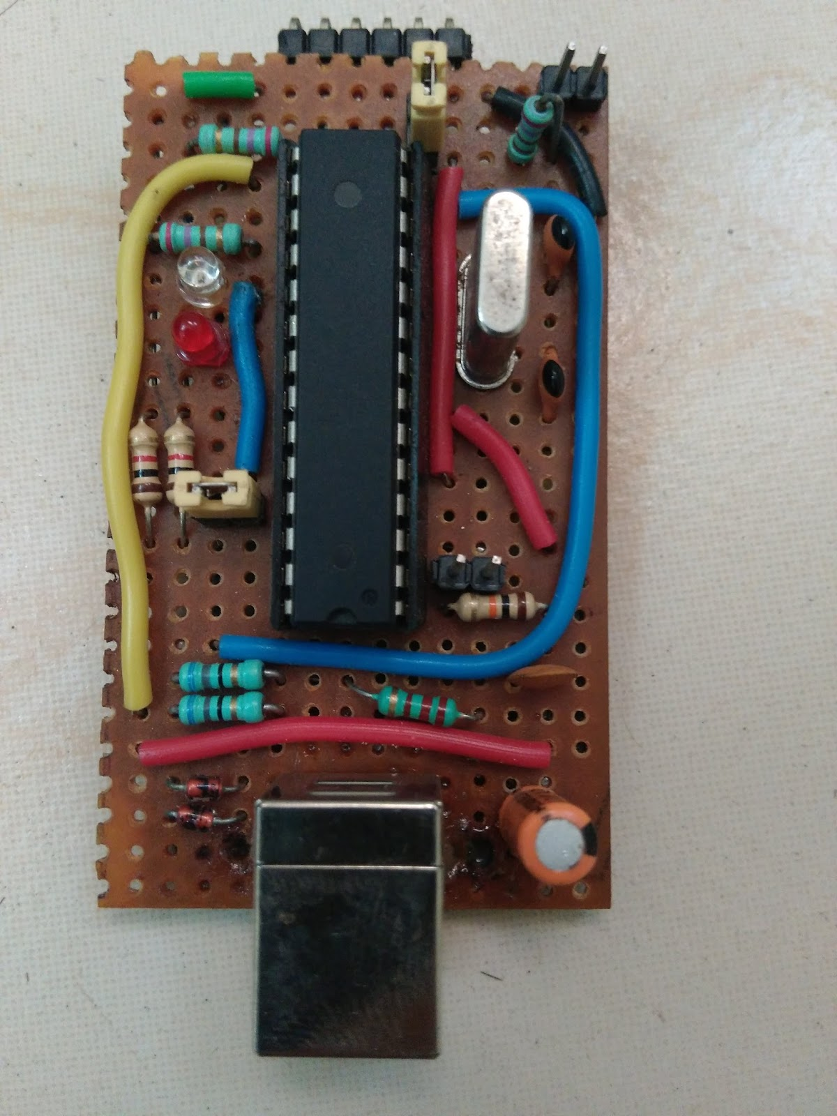 My Experiments And Results Usbasp Programmer For Atmel Avr Usb Using Atmega8 Installation