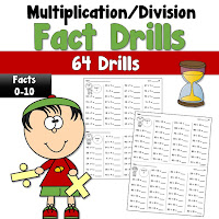 Multiplication and Division Fact Drills