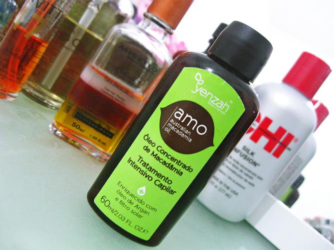 Yenzah Amo Australian Macadamia Oil