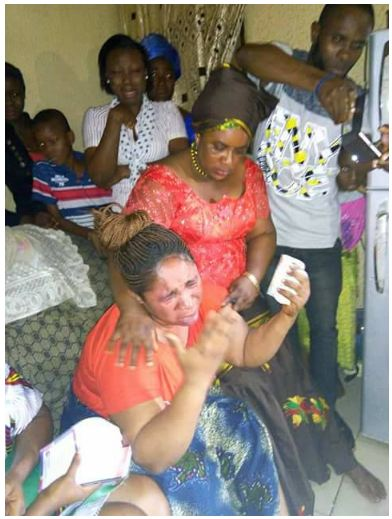 Mother Of Boy Who Was Killed In Owerri Bursts Into Tears As PDP Members Visit (Photos)