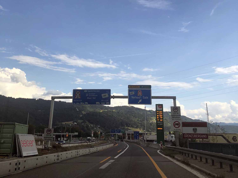Itävalta Austria road trip