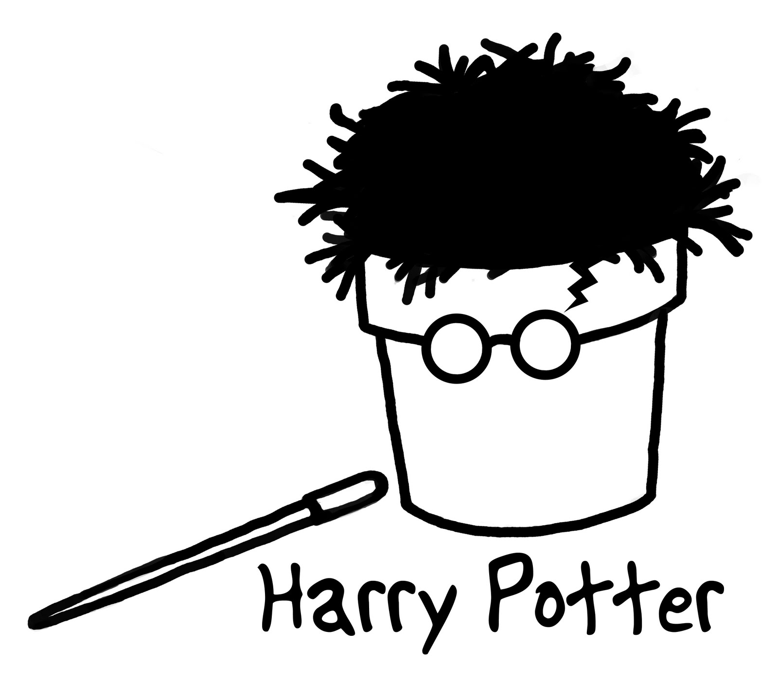 Harry Potter Scar Illustration Pictures To Pin On