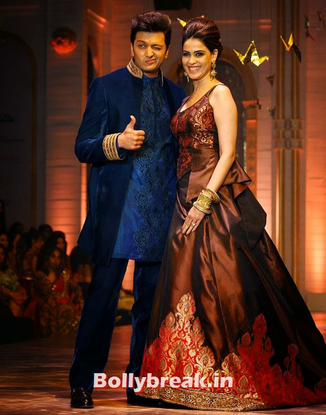 Genelia D'Souza and Riteish Deshmukh, The most stylish couples of 2013