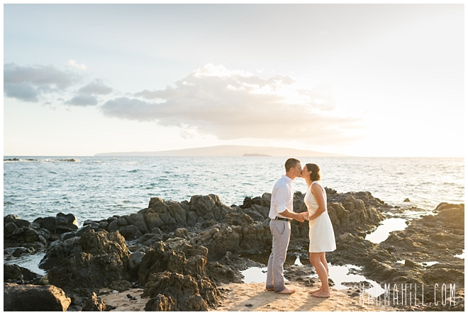 beach wedding in Maui, Hawaii