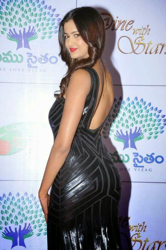 Shubra Aiyappa Photos, Shubra Aiyappa hot Pics in Black Tight Dress - Indian Kim Kardashian
