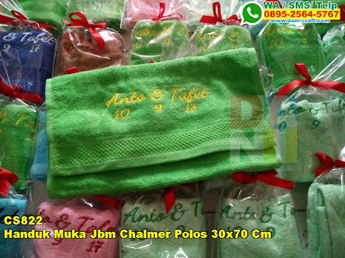 Harga Handuk Muka Jbm Chalmer Polos 30x70 Cm
