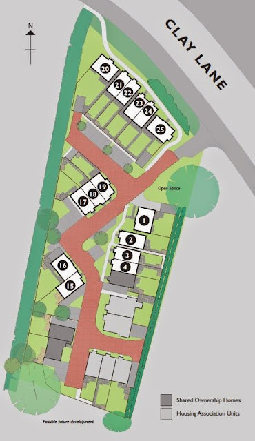 the oaks chichester buy-to-let siteplan
