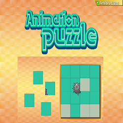 Animation Puzzle (Moving Picture Re-Construction Game)
