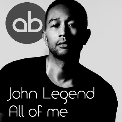 John Legend 'All Of Me' single review: A timeless love song |All Of Me Album Cover John Legend