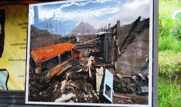 Kehancuran Akibat Erupsi Merapi 2010