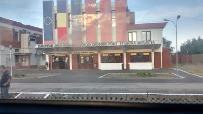 frontera rumania y serbia