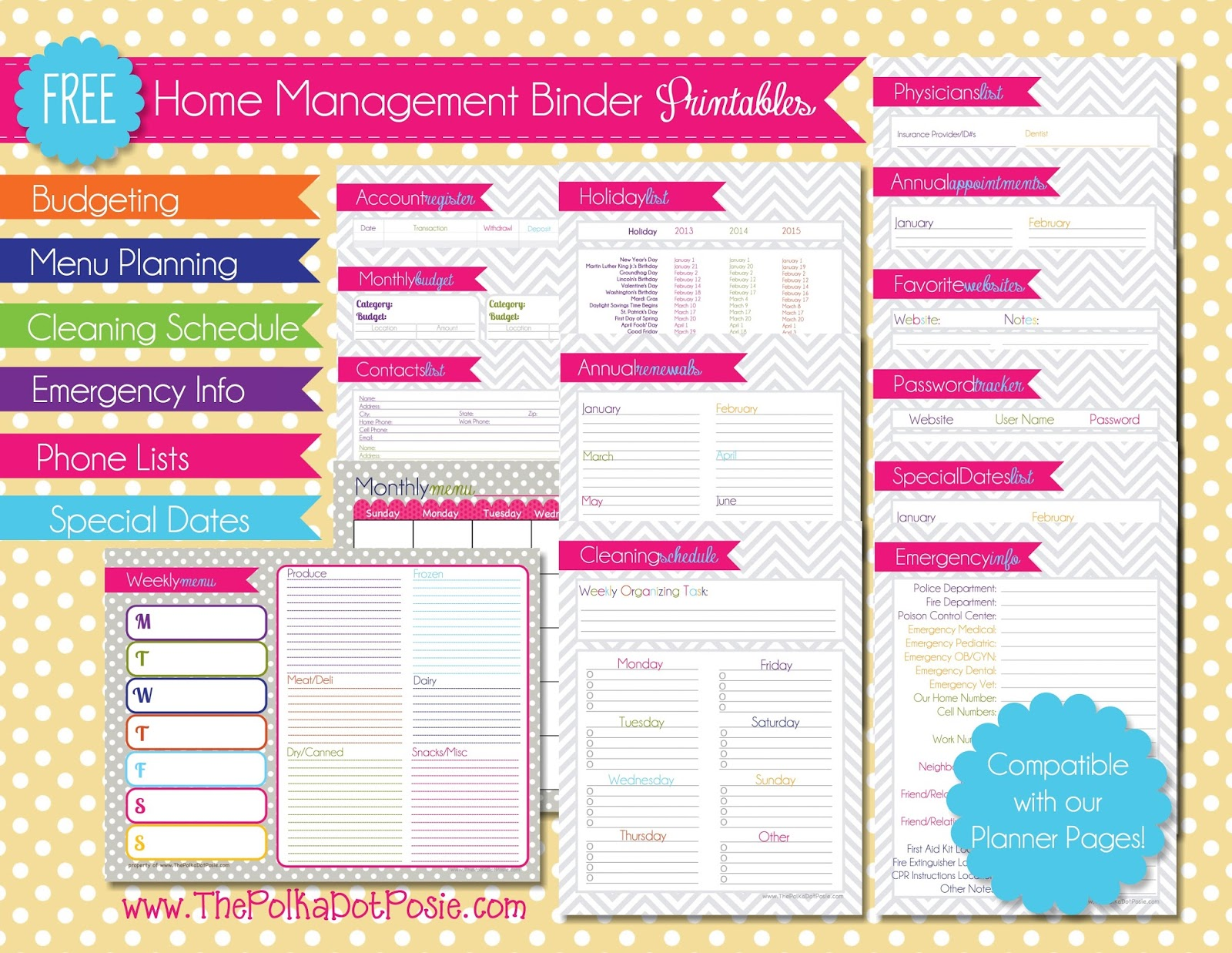 A Daily Dose Of Davis More Free Printables Just In Time