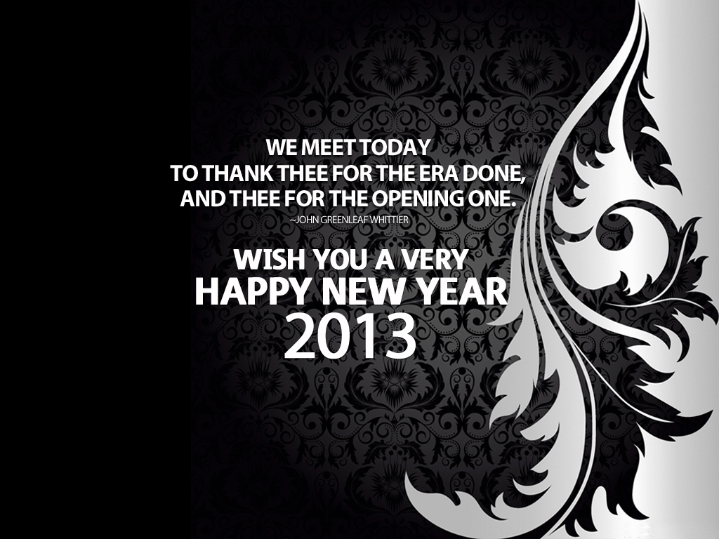 Happy New Year 2013 Sayings For Greeting Cards