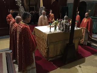 Sfantul Mare Mucenic Dimitrie Izvoratorul de Mir, Catedrala Mitropolitana Cluj-Napoca