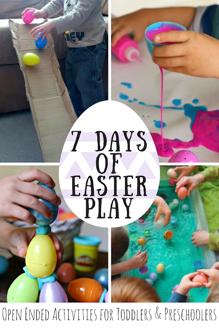 7 Days of Easter Play: Open Ended Activities for Toddlers and Preschoolers
