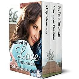 Touched by Love in Tucumcari: 3 Romantic novellas - contemporary romance with humor by Gail Gaymer Martin