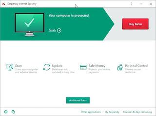تحميل برنامج الحماية من الفيروسات الضارة Kaspersky Internet Security