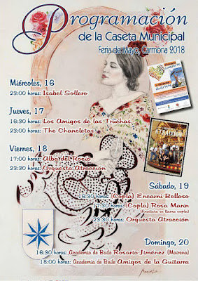 Carmona - Feria 2018 - Programación Caseta Municipal