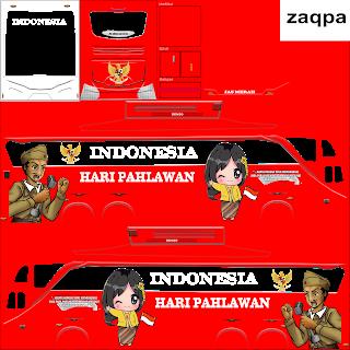 Download Livery Bus Hari Pahlawan