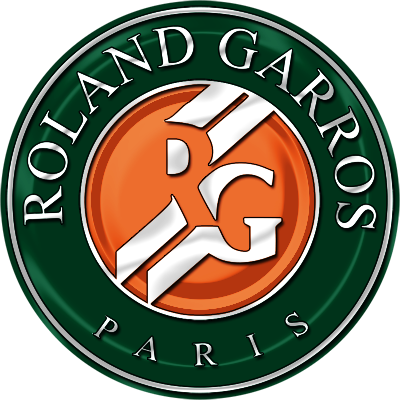 8 ronald garros logos tennis tiwula. Black Bedroom Furniture Sets. Home Design Ideas