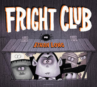 review Fright Club picture book Halloween