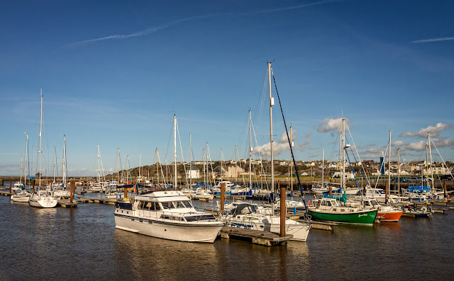 Photo of our Neptunus 133 at Maryport Marina