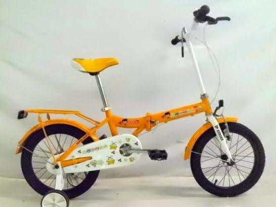 Sepeda Lipat Anak Genio Aurora 16 Inci