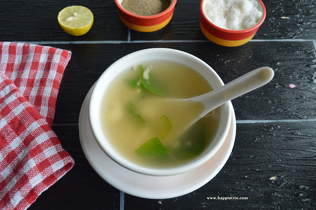 Chicken Clear Soup Recipe | How to prepare Chicken Clear Soup