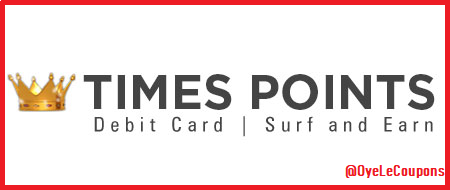 TimesPoints Offer: Get FREE Paytm Voucher by Earning Points